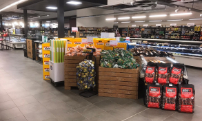 Delhaize opened its biggest store yet in Luxembourg