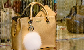 Michael Kors bag in shop window